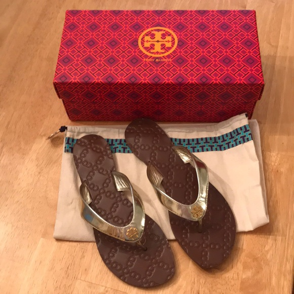 31562f4e7 Tory Burch Shoes | Nib Monroe Thong Sandal | Poshmark